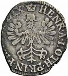 Photo numismatique  ARCHIVES VENTE 2015 -26-28 oct -Coll Jean Teitgen LOCALITES APPARENTEES A LA LORRAINE Principauté de PHALSBOURG-LIXHEIM Henriette de LORRAINE-VAUDÉMONT (1630-1635) 1317-  Gros lorrain ou double denier, Lixheim.