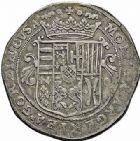 Photo numismatique  ARCHIVES VENTE 2015 -26-28 oct -Coll Jean Teitgen LOCALITES APPARENTEES A LA LORRAINE Abbaye  de GORZE Abbé Charles de REMONCOURT (1608-1645) 1319- Grand écu ou thaler, sans date (vers 1630).