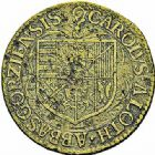 Photo numismatique  ARCHIVES VENTE 2015 -26-28 oct -Coll Jean Teitgen LOCALITES APPARENTEES A LA LORRAINE Abbaye  de GORZE Abbé Charles de REMONCOURT (1608-1645) 1320- Jeton, 1612.