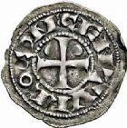 Photo numismatique  ARCHIVES VENTE 2015 -26-28 oct -Coll Jean Teitgen BEARN ET NAVARRE Seigneurie de BEARN CENTULLE (XIIe - XIIIe siècles) 1322- Obole.