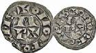 Photo numismatique  ARCHIVES VENTE 2015 -26-28 oct -Coll Jean Teitgen BEARN ET NAVARRE Seigneurie de BEARN CENTULLE (XIIe - XIIIe siècles) 1323- Denier et obole.