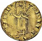 Photo numismatique  ARCHIVES VENTE 2015 -26-28 oct -Coll Jean Teitgen BEARN ET NAVARRE Seigneurie de BEARN GASTON PHEBUS (1343-1391) 1324- Florin d'or.