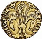 Photo numismatique  ARCHIVES VENTE 2015 -26-28 oct -Coll Jean Teitgen BÉARN ET NAVARRE Seigneurie de BEARN GASTON PHEBUS (1343-1391) 1325- Florin d'or