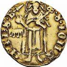 Photo numismatique  ARCHIVES VENTE 2015 -26-28 oct -Coll Jean Teitgen BEARN ET NAVARRE Seigneurie de BEARN GASTON PHEBUS (1343-1391) 1325- Florin d'or