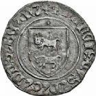 Photo numismatique  ARCHIVES VENTE 2015 -26-28 oct -Coll Jean Teitgen BEARN ET NAVARRE Seigneurie de BEARN FRANCOIS PHEBUS (1479-1483) 1331- Blanc d'argent, Morlaàs.