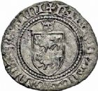 Photo numismatique  ARCHIVES VENTE 2015 -26-28 oct -Coll Jean Teitgen BEARN ET NAVARRE Seigneurie de BEARN CATHERINE (1483-1484) 1332- Blanc d'argent, Morlaàs.