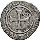 Photo numismatique  ARCHIVES VENTE 2015 -26-28 oct -Coll Jean Teitgen BEARN ET NAVARRE Seigneurie de BEARN CATHERINE (1483-1484) 1333- Blanc d'argent contremarqué, Morlaàs.