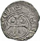 Photo numismatique  ARCHIVES VENTE 2015 -26-28 oct -Coll Jean Teitgen BÉARN ET NAVARRE Seigneurie de BEARN CATHERINE (1483-1484) 1335- Denier, Morlaàs.