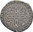 Photo numismatique  ARCHIVES VENTE 2015 -26-28 oct -Coll Jean Teitgen BEARN ET NAVARRE Seigneurie de BEARN ANTOINE de Bourbon et JEANNE d'Albret (1555-1562) 1348- Douzain, Morlaàs 1559.
