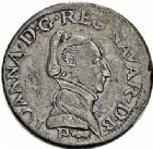 Photo numismatique  ARCHIVES VENTE 2015 -26-28 oct -Coll Jean Teitgen BEARN ET NAVARRE Seigneurie de BEARN JEANNE D'ALBRET (1562-1572) 1354- Teston, Pau, 1570.