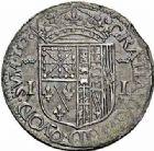 Photo numismatique  ARCHIVES VENTE 2015 -26-28 oct -Coll Jean Teitgen BEARN ET NAVARRE Seigneurie de BEARN JEANNE D'ALBRET (1562-1572) 1354- Teston, Pau, 1570.