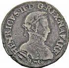 Photo numismatique  ARCHIVES VENTE 2015 -26-28 oct -Coll Jean Teitgen BÉARN ET NAVARRE Seigneurie de BEARN HENRI II (1572-1589) 1359- Teston, Morlaàs 1575.