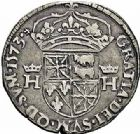 Photo numismatique  ARCHIVES VENTE 2015 -26-28 oct -Coll Jean Teitgen BEARN ET NAVARRE Seigneurie de BEARN HENRI II (1572-1589) 1360- Demi-teston, Morlaàs 1573.