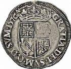 Photo numismatique  ARCHIVES VENTE 2015 -26-28 oct -Coll Jean Teitgen BÉARN ET NAVARRE Seigneurie de BEARN HENRI II (1572-1589) 1361- Teston, Morlaàs 1576.