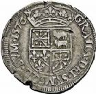 Photo numismatique  ARCHIVES VENTE 2015 -26-28 oct -Coll Jean Teitgen BEARN ET NAVARRE Seigneurie de BEARN HENRI II (1572-1589) 1362- Teston, Morlaàs 1576.