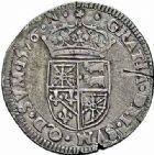 Photo numismatique  ARCHIVES VENTE 2015 -26-28 oct -Coll Jean Teitgen BÉARN ET NAVARRE Seigneurie de BEARN HENRI II (1572-1589) 1363- Demi-teston, Morlaàs 1576.