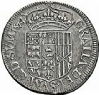 Photo numismatique  ARCHIVES VENTE 2015 -26-28 oct -Coll Jean Teitgen BEARN ET NAVARRE Seigneurie de BEARN HENRI II (1572-1589) 1367- Teston, Moulin de Pau 1574 (N).