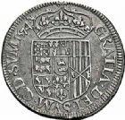 Photo numismatique  ARCHIVES VENTE 2015 -26-28 oct -Coll Jean Teitgen BÉARN ET NAVARRE Seigneurie de BEARN HENRI II (1572-1589) 1367- Teston, Moulin de Pau 1574 (N).