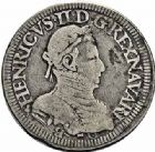Photo numismatique  ARCHIVES VENTE 2015 -26-28 oct -Coll Jean Teitgen BEARN ET NAVARRE Seigneurie de BEARN HENRI II (1572-1589) 1368- Teston, Moulin de Pau 1575 (A).