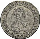 Photo numismatique  ARCHIVES VENTE 2015 -26-28 oct -Coll Jean Teitgen BEARN ET NAVARRE Seigneurie de BEARN HENRI II (1572-1589) 1369- Franc aux H non couronnées et au buste allongé, Moulin de Pau, 1578.