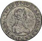 Photo numismatique  ARCHIVES VENTE 2015 -26-28 oct -Coll Jean Teitgen BÉARN ET NAVARRE Seigneurie de BEARN HENRI II (1572-1589) 1369- Franc aux H non couronnées et au buste allongé, Moulin de Pau, 1578.