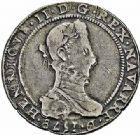 Photo numismatique  ARCHIVES VENTE 2015 -26-28 oct -Coll Jean Teitgen BÉARN ET NAVARRE Seigneurie de BEARN HENRI II (1572-1589) 1370- Demi-franc aux H non couronnées et au buste allongé, Moulin de Pau, 1578.