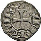 Photo numismatique  ARCHIVES VENTE 2015 -26-28 oct -Coll Jean Teitgen MONNAIES D'AQUITAINE Comté de BORDEAUX BERNARD-GUILLAUME (984-1010).  1391- Denier.