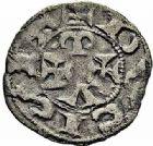 Photo numismatique  ARCHIVES VENTE 2015 -26-28 oct -Coll Jean Teitgen MONNAIES D'AQUITAINE Duché d'AQUITAINE GUILLAUME X (1127-1137) 1392-  Denier.