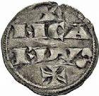 Photo numismatique  ARCHIVES VENTE 2015 -26-28 oct -Coll Jean Teitgen MONNAIES D'AQUITAINE Duché d'AQUITAINE RICHARD Ier Coeur de Lion (1169-1189) 1393- Denier d'Aquitaine.