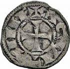 Photo numismatique  ARCHIVES VENTE 2015 -26-28 oct -Coll Jean Teitgen MONNAIES D'AQUITAINE Duché d'AQUITAINE RICHARD Ier Coeur de Lion (1169-1189) 1394- Obole d'Aquitaine.