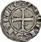 Photo numismatique  ARCHIVES VENTE 2015 -26-28 oct -Coll Jean Teitgen MONNAIES D'AQUITAINE MONNAYAGE FRANCO-ANGLAIS EDOUARD Ier prince héritier (1252-1272) 1395- Denier au léopard.