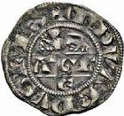 Photo numismatique  ARCHIVES VENTE 2015 -26-28 oct -Coll Jean Teitgen MONNAIES D'AQUITAINE MONNAYAGE FRANCO-ANGLAIS EDOUARD Ier roi d'Angleterre (1272-1307) 1396-  Denier au léopard 1er type.