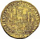 Photo numismatique  ARCHIVES VENTE 2015 -26-28 oct -Coll Jean Teitgen MONNAIES D'AQUITAINE MONNAYAGE FRANCO-ANGLAIS EDOUARD III (1327-1362) 1397-  Écu d'or à la chaise.