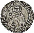 Photo numismatique  ARCHIVES VENTE 2015 -26-28 oct -Coll Jean Teitgen MONNAIES D'AQUITAINE MONNAYAGE FRANCO-ANGLAIS EDOUARD, prince de Galles dit le Prince Noir (1362-1372) 1403- Hardi d'argent, Bordeaux.