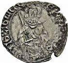 Photo numismatique  ARCHIVES VENTE 2015 -26-28 oct -Coll Jean Teitgen MONNAIES D'AQUITAINE MONNAYAGE FRANCO-ANGLAIS EDOUARD, prince de Galles dit le Prince Noir (1362-1372) 1404- Hardi d'argent, Tarbes.