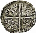 Photo numismatique  ARCHIVES VENTE 2015 -26-28 oct -Coll Jean Teitgen MONNAIES D'AQUITAINE MONNAYAGE FRANCO-ANGLAIS RICHARD II (1377- 1399) 1405-  Hardi d'argent, Bordeaux (?).