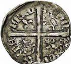 Photo numismatique  ARCHIVES VENTE 2015 -26-28 oct -Coll Jean Teitgen MONNAIES D'AQUITAINE MONNAYAGE FRANCO-ANGLAIS RICHARD II (1377- 1399) 1405-  Hardi d'argent, Bordeaux (?).