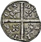 Photo numismatique  ARCHIVES VENTE 2015 -26-28 oct -Coll Jean Teitgen MONNAIES D'AQUITAINE MONNAYAGE FRANCO-ANGLAIS HENRY IV, V ou VI (1389-1439) 1406-  Hardi d'argent, Bordeaux (?).