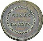 Photo numismatique  ARCHIVES VENTE 2015 -26-28 oct -Coll Jean Teitgen JETONS ET MÉDAILLES DES MINES Mines d'ANZIN (Nord)  1413- Jeton rond.