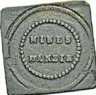 Photo numismatique  ARCHIVES VENTE 2015 -26-28 oct -Coll Jean Teitgen JETONS ET MÉDAILLES DES MINES Mines d'ANZIN (Nord)  1414- Jeton carré.