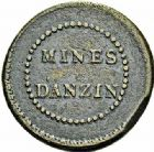 Photo numismatique  ARCHIVES VENTE 2015 -26-28 oct -Coll Jean Teitgen JETONS ET MÉDAILLES DES MINES Mines d'ANZIN (Nord)  1415- Jeton rond.