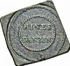 Photo numismatique  ARCHIVES VENTE 2015 -26-28 oct -Coll Jean Teitgen JETONS ET MEDAILLES DES MINES Mines d'ANZIN (Nord)  1416- Jeton carré.