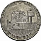Photo numismatique  ARCHIVES VENTE 2015 -26-28 oct -Coll Jean Teitgen JETONS ET MEDAILLES DES MINES Mines d'ANZIN, RAISMES, FRESNES et VIEUX-CONDE  1417- Jeton rond de présence aux assemblées des régisseurs (vers 1820).