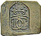 Photo numismatique  ARCHIVES VENTE 2015 -26-28 oct -Coll Jean Teitgen JETONS ET MÉDAILLES DES MINES Mines de FRESNES (Nord)  1420- Jeton rectangulaire à deux pans coupés.