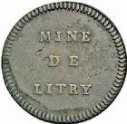 Photo numismatique  ARCHIVES VENTE 2015 -26-28 oct -Coll Jean Teitgen JETONS ET MÉDAILLES DES MINES Mines de LITTRY (Calvados)  1428- Jetons (2), valeur 12 sols.