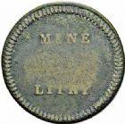 Photo numismatique  ARCHIVES VENTE 2015 -26-28 oct -Coll Jean Teitgen JETONS ET MEDAILLES DES MINES Mines de LITTRY (Calvados)  1428- Jetons (2), valeur 12 sols.