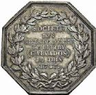 Photo numismatique  ARCHIVES VENTE 2015 -26-28 oct -Coll Jean Teitgen JETONS ET MEDAILLES DES MINES Mines de LITTRY (Calvados)  1430- Jeton 1839.