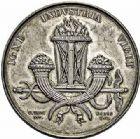 Photo numismatique  ARCHIVES VENTE 2015 -26-28 oct -Coll Jean Teitgen JETONS ET MEDAILLES DES MINES Mines de RIVE-DE-GIER (Loire)  1431- Médaille ou jeton, 1838.