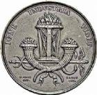 Photo numismatique  ARCHIVES VENTE 2015 -26-28 oct -Coll Jean Teitgen JETONS ET MÉDAILLES DES MINES Mines de SAINT-ETIENNE (Loire)  1432- Médaille ou jeton, 1844.