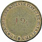 Photo numismatique  ARCHIVES VENTE 2015 -26-28 oct -Coll Jean Teitgen JETONS ET MÉDAILLES DES MINES Mines de FINS et NOYANT (Allier)  1433- Jeton.